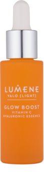 Lumene Valo [Light] posvetlitvena hranilna voda za obraz s hialuronsko kislino
